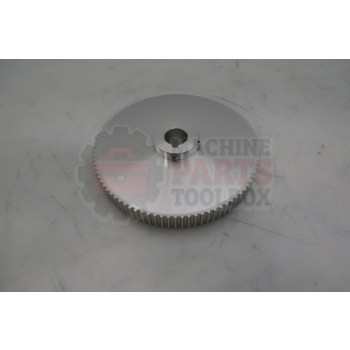 Lantech - Pulley Belt Timing HTD 90T 5MM 3/4 Wide .75 Bore .197 Key - 30136772L