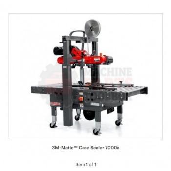 3M-Matic™ Adjustable Case Sealer 7000a3 Pro