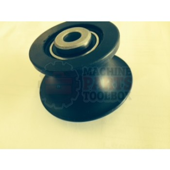 Wulftec - Machined Flanged Roller, 0MBRG00283, 6MROL00478, 0MBRG00430 *Contact MPT for pricing and lead time.*