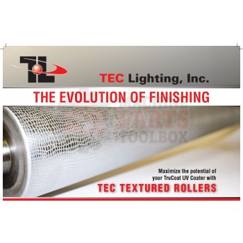 TEC Lighting - Tec Textured Rollers - UV Coating Machine Parts
