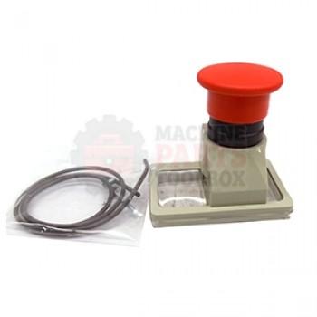 3M - E-STOP MUSHROOM BUTTON GV2-K011 - # 26-1012-0100-7