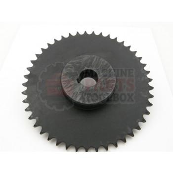 Lantech - Sprocket Metric 5.373 Pitch DIA 45 Tooth 3/4IN Bore W/ 5MM Key 2 Set Screws - 30002057