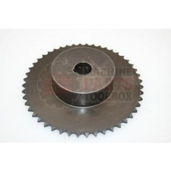 Lantech - Sprocket Metric 06B48 3/4IN Bore W/5MM Key 2 Set Screws - 30002059