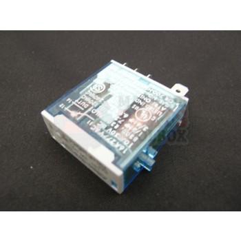 Lantech - Relay General Purpose 24VDC Coil 240VAC/30VDC 10A SPDT 5P Slim Line W/ Indicator - 30010607