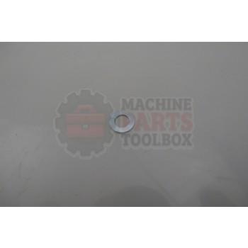 Lantech - Washer Flat M5 (5.3MM ID) Zinc Plated Steel - 30145156