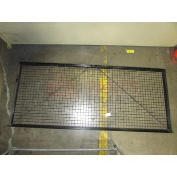Lantech - FENCE PANEL FAB 40 X 90-1/2 SWINGING GATE DOOR OVERLAPPED DESIGN - 30146435