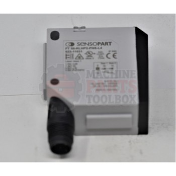 Lantech - SWITCH PHOTOCELL PROXIMITY TOF W/BACKGROUND SUPPRESSION CLASS 1 LASER 24VDC PNP/NPN MICRO QD 5M DISTANCE - 30164618