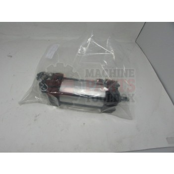 Lantech - CYLINDER AIR 2-1/2 IN BORE WITH BLOCKING VALVE W/ ADAPTERS AND FLOW CONTROLS RVS FLOW - 30183447