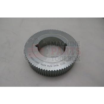 Lantech - Sprocket Metric Powergrip Belt 5MM Pitch 25MM Wide 80T Taperlock - 31005287