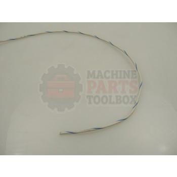 Lantech - Wire #14 GA White W/ Blue Tracer MTW 1000 - 31015294
