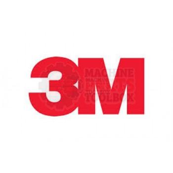 3M - Bumper - Red 28.5 mm x 9.3mm - # 78-0025-0315-5