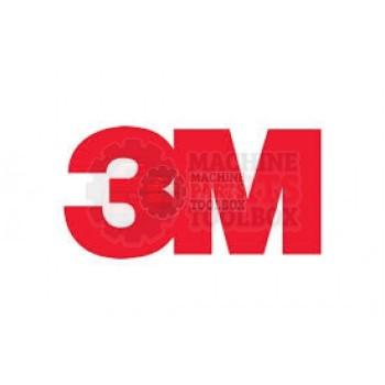 3M - Bumper - Stop 10 X 20 X 10L - # 78-0025-0153-0
