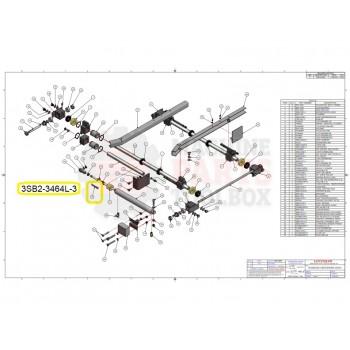 Loveshaw - CHAIN STUD - # 3SB2-3464L-3 (Default)