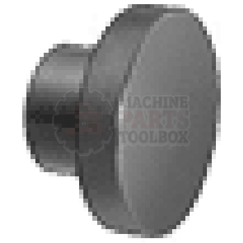 Beseler - Thumb Nut (black plastic attaches seal wires) 568-03-03