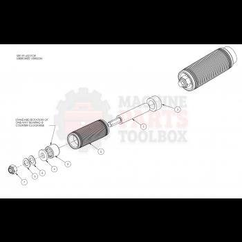 """Dekka - Clutch Roller 3"""" 59-027, Z59-027"""