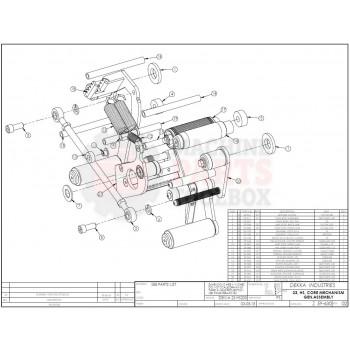 Dekka - 23, HS200, MR, Core Mechanism - # 59-630, Z59-630