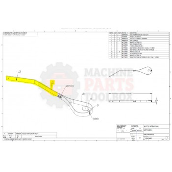Wulftec - Safety Bumper Bracket Semi-Auto - # 5MBRK00097 *Contact MPT for pricing and lead time.*