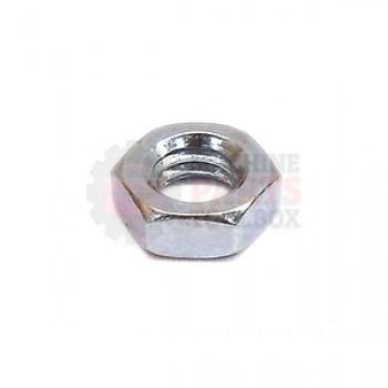 3M - Hex Jam Nut 5/16-18 Zinc Plate - # 70-8000-4828-5