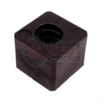3M - Nut - Drive Lead Screw LH (Black) - # 78-8137-8068-7