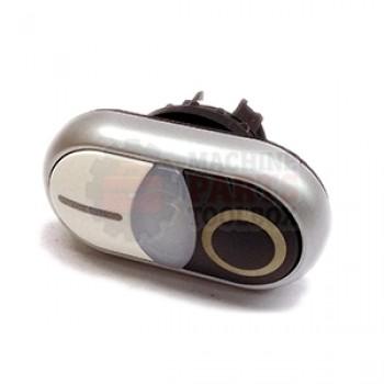 3M - Start/stop Black/White Push button - # 78-8137-8079-4