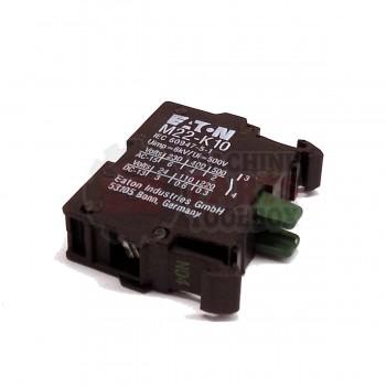 3M -  Contact Block - M22-K10, 1NO - # 78-8137-8081-0