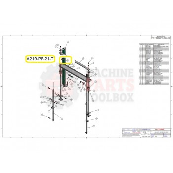 Loveshaw - TRANSDUCER TARGET - # A219-PF-21-T