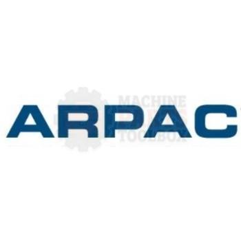 Arpac - Knob, Black, Plastic, 0.83 Dia, 1/4-20 Female Insert 0.39 Deep - 839058