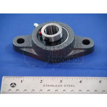 "Shanklin - 3/4"" B, 2 Hole Flange Bearing - BB-0011"