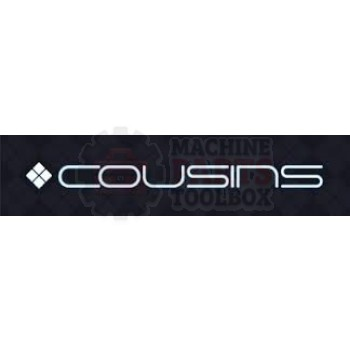 "Cousins - Prestretch Roller 3"" Diameter w/ Shaft 20"" - W126"
