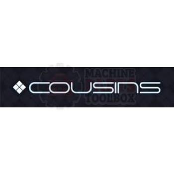 Cousins - Contact Block w Base 1 NO & NC - E1939