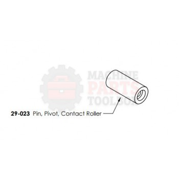 Dekka - Pin, Pivot, Contact Roller - # 29-023