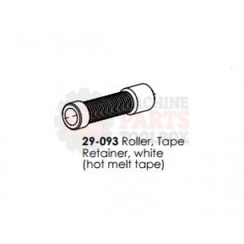 Dekka - Roller, Tape Retainer - # 29-093
