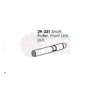 Dekka - Shaft, Roller Front Link - # 29-331