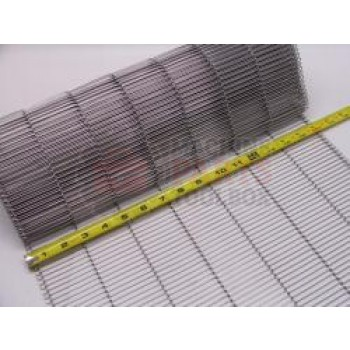 "Eastey - Conveyor Belt - Stainless Steel Wire Mesh - 16"" WIde - 1/4"" x .05 - 7SPL - price by the foot"