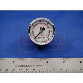 Shanklin - Gauge, Pressure, 0-60 Psi - EE-0036