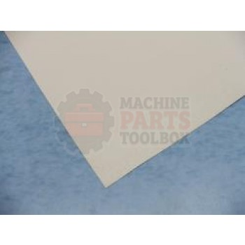 Eastey - Curtain Material for Tunnel Openings - White - price by the yard - 40031