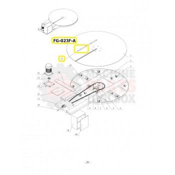 Eagle - Turntable Slot Cover - # FG-023F-A