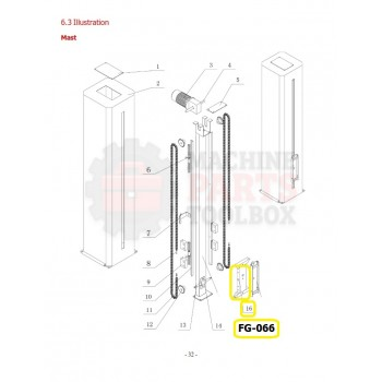 Eagle - Lifting Frame - # FG-066
