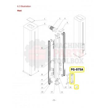 Eagle - Lifting Frame Bracket - # FG-075A