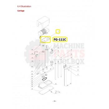 Eagle - Upper Cover - # FG-111C