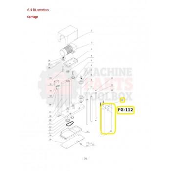 Eagle - Transition Roller Seat - # FG-112