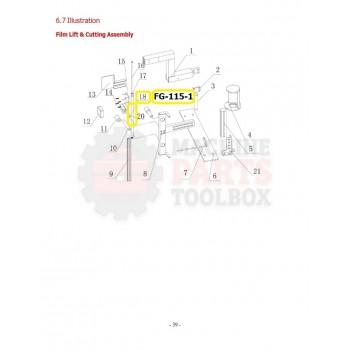 Eagle - Roller - # FG-115-1