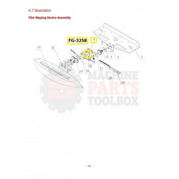 Eagle - Driven Chain Wheel - # FG-3258