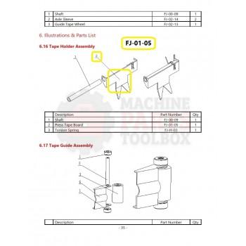 Eagle - Press Tape Board - # FJ-01-05