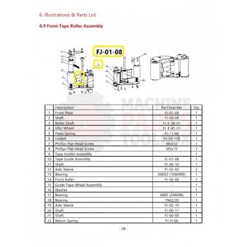 Eagle - Tape Guide Assembly - # FJ-01-08