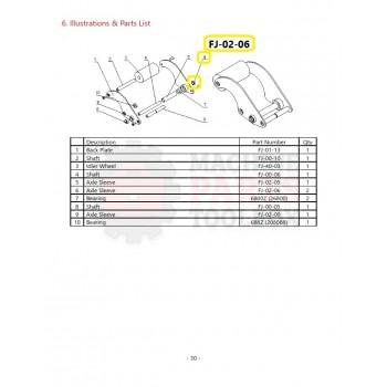 Eagle - Axle Sleeve - # FJ-02-06