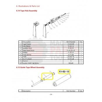 Eagle - Guide Tape Wheel - # FJ-02-13