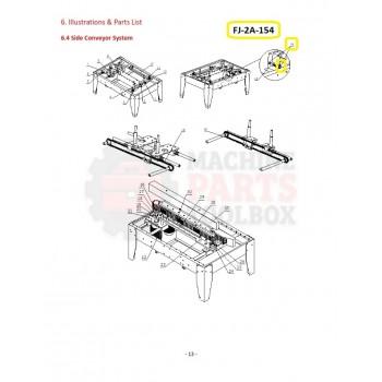 Eagle - Chain Tension Adjuster - # FJ-2A-154
