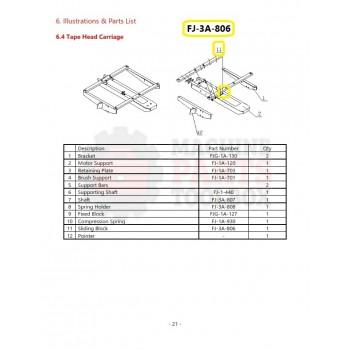 Eagle - Sliding Block - # FJ-3A-806