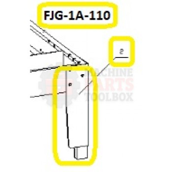 Eagle - Machine Frame - # FJG-1A-100